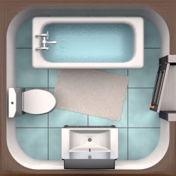 Bathroom Planner Icon